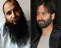 Yasin Malik, Masrat Alam detained in Kashmir