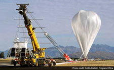 NASA balloon leaks, lands in Australia