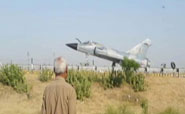 Fighter jet lands on Yamuna Expressway