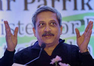 Parrikar to begin two-day Jammu and Kashmir visit today