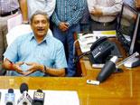 Parrikar to visit LoC, review security situation