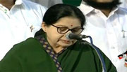 Jayalalithaa again becomes Tamil Nadu chief minister
