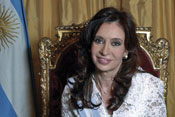 Argentine president receives threat from IS