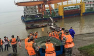 Ten rescued after ship with 458 people sinks in China river