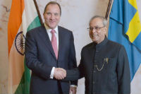 Mukherjee announces e-tourist visas for Swedish nationals