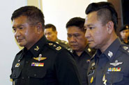Thai army general surrenders over migrants trafficking