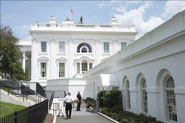 White House briefing room evacuated in bomb scare