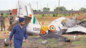 IAF fighter plane crashes in Uttar Pradesh