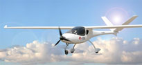 China manufactures first electric plane