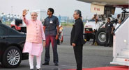 Modi leaves on Central Asia, Russia visit