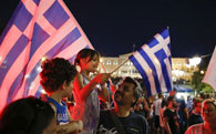 NO  leads by 61 percent in Greek referendum