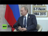 Rouhani thanks Putin for Russia s efforts in nuclear talks