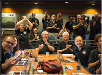NASA probe flies past Pluto, world awaits historic images