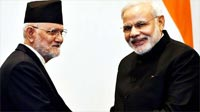 Modi speaks to Nepal PM, appeals for calm