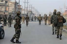 Two security personnel injured in Kashmir fighting