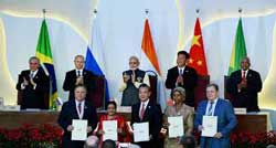 Modi calls for intra-BRICS trade target of $500 bn by 2020
