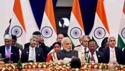 BRICS to work together and decisively against terror, says Modi