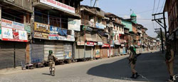 Over 7,000 held during ongoing Kashmir violence