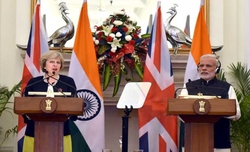 India, Britain sign MoUs on IPR, ease of doing business