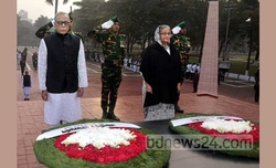 Bangladesh pays tribute to intellectuals martyred in 1971