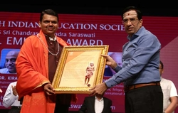Fadnavis, three others get SIES-Kanchi Seer memorial awards