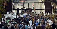 JNU protests: New, ugly face of Modi s India, says Pakistani daily