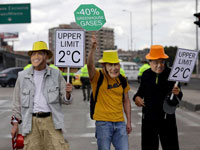 Change of guard 100 days into Paris climate pact