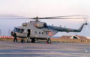 Russian firm to provide life cycle maintenance for Mi-17 choppers
