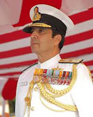 Naval chief dodges questions on Agusta probe