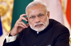 Kashmir yet to see  acche din   (Two years of the Modi government)
