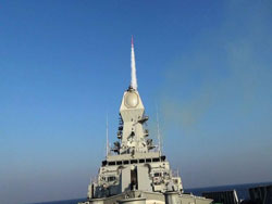 Navy successfully launches long-range air defence missile Barak NG