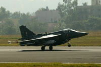 Indigenously developed Tejas LCA inducted into Indian Air Force