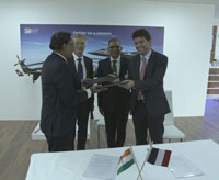 HAL to service copter engines with Safran