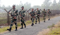 Border forces of India, Bangladesh tighten vigil