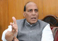 Rajnath Singh begins two-day visit to Srinagar from Wednesday
