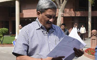 Parrikar seeks report on Scorpene leak, navy says leak not from India