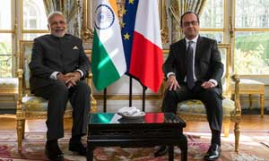 Modi raises NSG bid with Recep Tayyip Erdogan; Scorpene Submarine leak with Francois Hollande