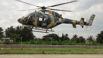 HAL Conducts Technical Flight of Indigenous Light Utility Helicopter