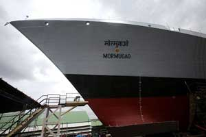 Mormugao  - second Visakhapatnam Class destroyer launched