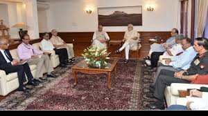 Modi chairs high level meeting on Uri attack