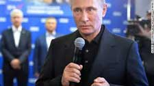 Putin s party wins majority in parliamentary elections