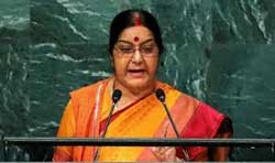 India set no preconditions for talks, but Pakistan spurned friendship, Sushma at UN