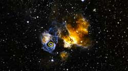 NASA telescope spots sizzling gamma-ray binary in space
