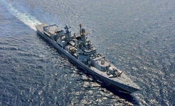 Indian Navy undertakes war exercise to test combat readiness