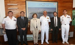 French Minister for Armed Forces Visit to Western Naval Command