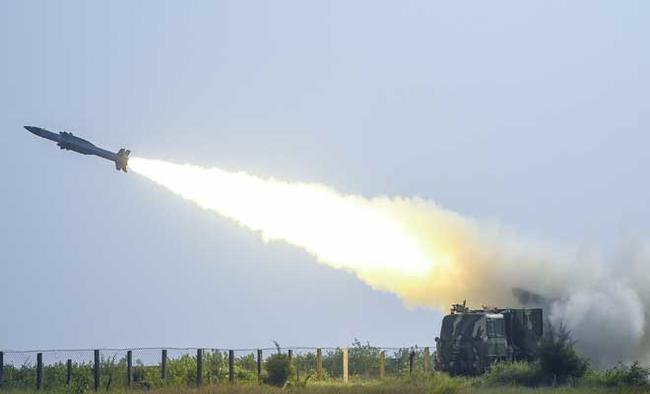 Akash missile tested with indigenous radio frequency seeker