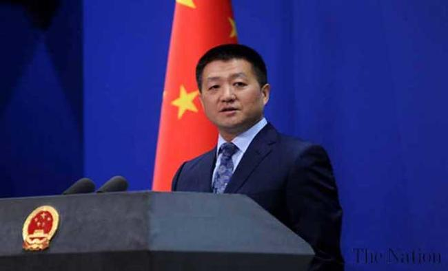 China urges Pakistan, India to maintain peace