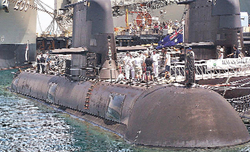 Global submarine makers bid for 70,000 cr. order for six submarines