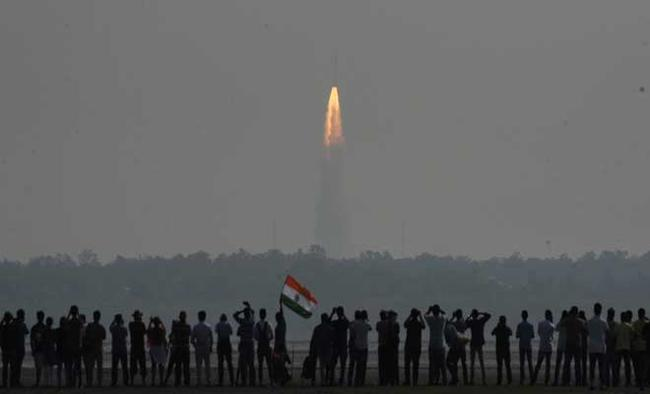 India puts record 104 satellites into orbit in single mission