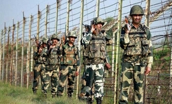 Army conveys concern over terrorists along LoC